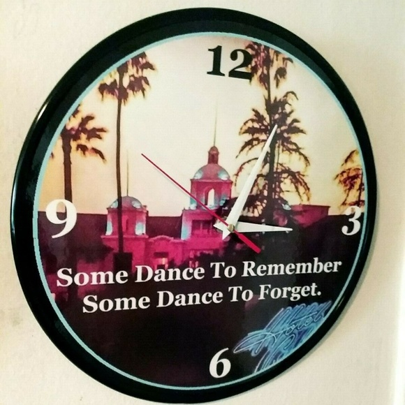 New Homemade Other - THE EAGLES - HOTEL CALIFORNIA -12IN WALL CLOCK NEW